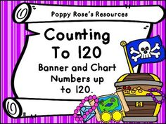 Whether you are teaching outcomes to 100 or 120, this is the perfect addition to your Math class. It can be a massive chart for the students to cooperatively assemble, it can be used with a purchased chart, or it can be a year round bulletin board in your