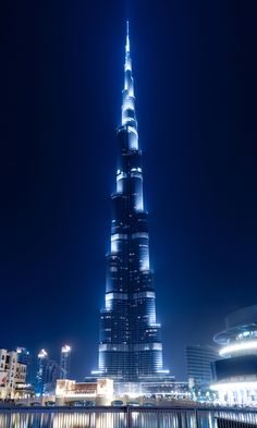 Dubai. When I went to Bangladesh I saw this because I flight stopped there it is soo tall and beautiful!