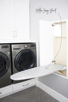 Room 101 : Laundry Room - Room for Tuesday Laundry Room Remodel, Laundry Room Storage, Laundry Room Design, Laundry Closet, Kitchen Design, Interior Design Living Room, Living Room Designs, Interior Livingroom, Kitchens