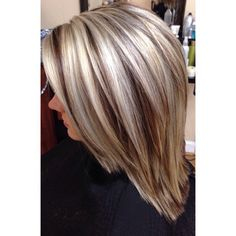 Fresh icy highlights with dimensional dark blondes. Hair Color And Cut, Haircut And Color, Cool Hair Color, Love Hair, Great Hair, Medium Hair Styles, Short Hair Styles, Hair Color Highlights, Hair Looks
