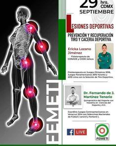 Sesión en directo en el Facebook de Federación Mexicana de Tiro y Caza A.C. (FEMETI) con la preparadora física y fisioterapeuta de @ale_pistolas Para no perdersela y grabarla