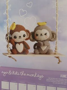 2012 Crochet Me Amigurumi Calendar