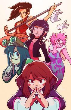 My Hero Academia My Hero Academia Episodes, My Hero Academia Memes, Hero Academia Characters, My Hero Academia Manga, Comic Anime, 5 Anime, My Hero Academia Tsuyu, Buko No Hero Academia, Deku Anime