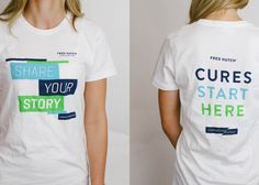 """Materials created as part of the """"Share Your Story"""" campaign for the Fred Hutchinson Cancer Research Center."""
