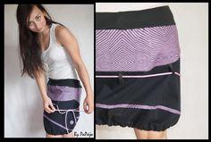 947bc4307bc Line purple skirt no.2   Zboží prodejce PaPája shop