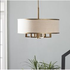 Found it at Wayfair.ca - Bisbee 6-Light Drum Chandelier