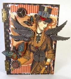 Jim Hankins- Graphic 45 DT audition- Steampunk done right
