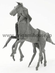origami art by Satoshi KAMIYA, Japan