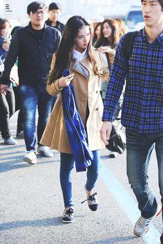 Red Velvet Irene Airport Fashion 141004 2014 Kpop