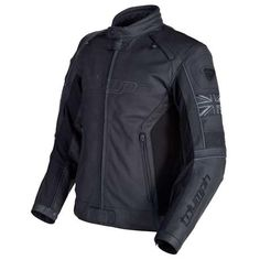 men's mono black leather jacket | triumph motorcycles | the mono