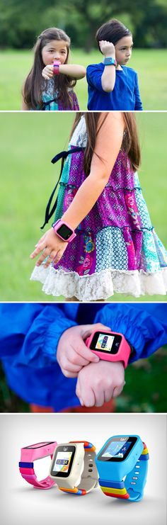First smart watch built for children. Embedded with a GPS chip as well as 3G, the POMO Waffle allows parents to know where their youngsters are headed and speak to each other. Kids can also pair them to become 'BFFs', and can emoji text each other. The watch comes with an alarm function and even a schedule-creating function that allows kids to structure their lives the way they want to and plan their day.