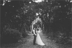 Anna & Alex lean in for a kiss under the tree-lined driveway at Chateau de Brametourte by Wild Connections Photography Tree Lined Driveway, Anna, French Wedding, Destination Wedding, Kiss, Wedding Inspiration, Wedding Dresses, Photography, Beautiful