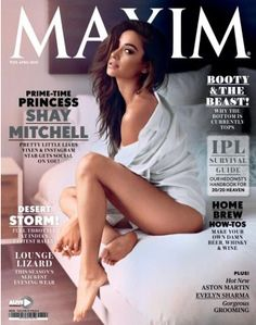 Maxim- The complete guide for Men...Featuring hot girls, funny lists, jokes, sexy women, and films online. Purchase April issue