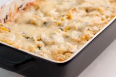 Spicy sausage marries ground beef perfectly in this keto-approved casserole!
