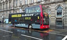 Hop on - Hop off bus tours is one of the best ways to explore Glasgow. Don't forget to take a bus tour to explore the beautiful city of Glasgow. Scotland Trip, Scotland Travel, Scotland Tourist Attractions, Bus Stop, Glasgow, Tours, Activities, City, Places