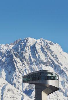 Bergisel Ski Jump, Innsbruck, Austria, by Zaha Hadid, 2002