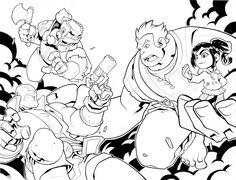 deviantART Picks 10/09/2014 Thursday Edition #Image #Skullkickers #WreckItRalph #Disney | Images Unplugged