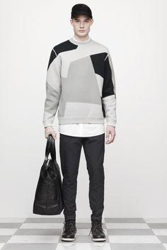 geometric   Alexander Wang Autumn/Winter 2012