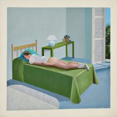 ...perfect capture of a lazy summer afternoon - preferably at the Côte d'Azur... (david hockney.)