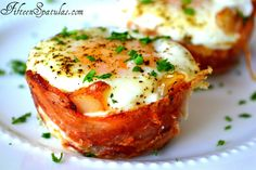 Mini Bacon Egg Toast Cups...an easy way to make a special brunch dish!