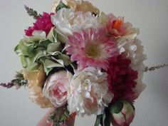 Floral extravagance by fleurslavielamour on Etsy Fuschia Wedding, Dream Wedding, Floral Wreath, Wreaths, Trending Outfits, Unique Jewelry, Handmade Gifts, Vintage, Etsy