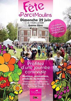 fête du parc des Moulins. Le dimanche 29 juin 2014 à Troyes.