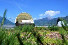 Ruhe&Relax Dachterrasse #tscherms #meranerland #urlaub #südtirol #entspannen #berge #rooftop #hoteltörggelehof