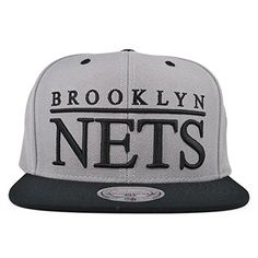 Brooklyn Nets TOP SHELF SNAPBACK Mitchell  Ness NBA Hat >>> Click on the image for additional details.