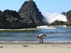 Are you ready for a hike on the beach in Oregon? yes..and the Columbia Gorge is supposed to be incredible