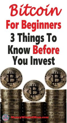 BITCOIN FOR BEGINNERS ~