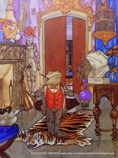 1982 WIND in the WILLOWS TOAD of Toad Hall Michael Hague.
