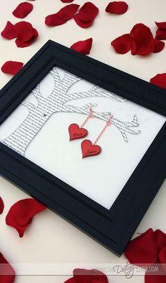 Boom Valentijn hartjes