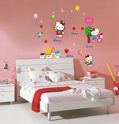 Hello Kitty Room Decorations-Buy Cheap Hello Kitty Room ... Hello Kitty Bedroom Set, Hello Kitty Room Decor, Hello Kitty Rooms, Living Room Decor Eclectic, Teen Room Decor, Home Decor Bedroom, Baby Bedroom, Bedroom Ideas, Bedroom Set Designs