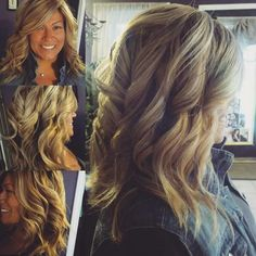 Platinum & golden blonde