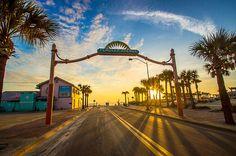 """Flagler Avenue Sunrise Ramp""- taken in New Smyrna Beach, Florida by Dan Mongosa of DM Photography."