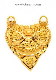 Gold Pendants - View and shop our collection of gold pendants made in India - Indian Gold Jewelry - Buy Online Gold Wedding Jewelry, Gold Rings Jewelry, Gold Bangles, Pendant Jewelry, Diamond Jewelry, Antique Jewellery Designs, Gold Earrings Designs, Gold Jewellery Design, Gold Mangalsutra