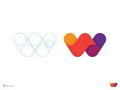 We offer premium & creative logo/branding design services. Logo Inspiration, Daily Inspiration, Monogram Logo, Icon Design, Web Design, Design Color, Design Trends, W Logos, Logo Type
