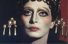 Capucine nel Satyricon di Fellini