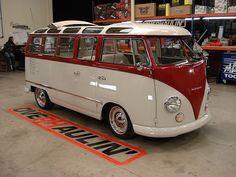 In my eyes the Ultimate VW Camper, touched & improved by a car god himself Chip Foose on Overhaulin' (bus / campervan / van / Volkswagen)