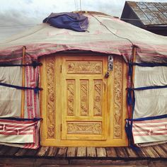 Nice to see a well done yurt