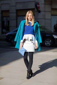 London Street Style Fall 2013 - London Fashion Week Style Fall 2013 - Harper's BAZAAR