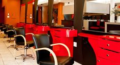 salon furniture including styling stations and other salon equipment