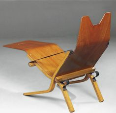 By Ernest Race (1913-1964), 1 9 5 3,   Neptune Chair . (mid-century British design)