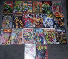 Savage Dragon, Outsiders, Warlock - Lot of 20 Comics - Copper Modern VF/NM #1!