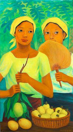 Anita Magsaysay Ho by Bobby Wong Jr. Philippine Mythology, Philippine Art, Filipino Art, Filipino Culture, Art Painting Gallery, Painting & Drawing, Caribbean Art, New Artists, Beautiful Paintings