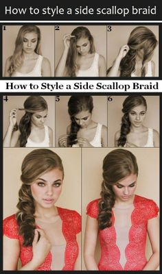 Some Side curly updo kinda but not really like this @Beth J Mccaslin
