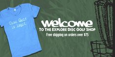 In addition to our main services, Explore Disc Golf has a fully functional online store where you can pick up items from our apparel line. Customize our hats with your own name in embroidery, pick up a t-shirt or take home an EDG stool to relax in style on the course!