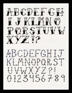 old tattoo font - Google Search