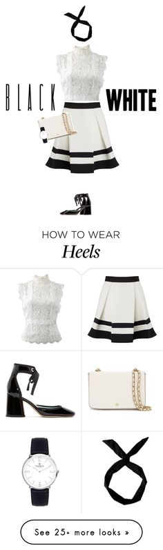 """""""Black and white"""" by freddarling on Polyvore featuring Marc Jacobs, Oscar de la Renta, Lipsy, Tory Burch and blackandwhite"""