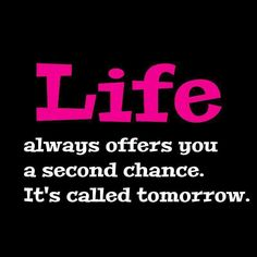 Take that second change to write a new chapter of your life....and let love grow again in your heart.....G